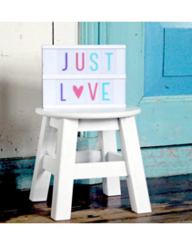 Lightbox letterset   pastel