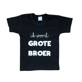 T-shirt | Ik word grote broer