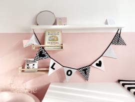 Slinger | Monochrome & roze