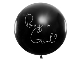 Boy or girl? | Gender reveal ballon (1m) | GIRL