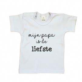T-shirt | Mijn papa is de liefste