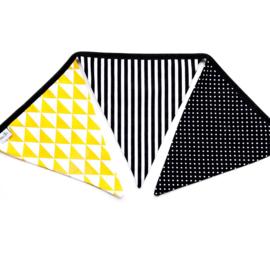 Slinger | Monochrome & okergeel