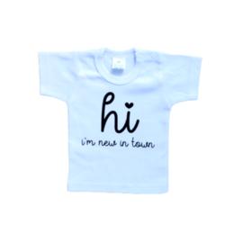 T-shirt | Hi I'm new here