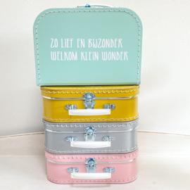 Koffertje |  Zo lief en bijzonder