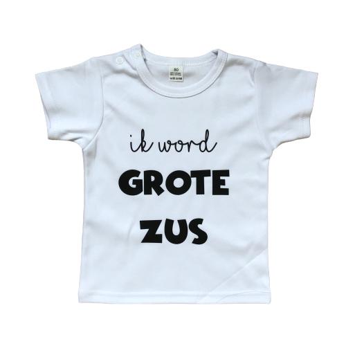 T-shirt | Ik word grote zus