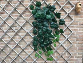 Kunst klimplant, grote steel met blad 100 cm