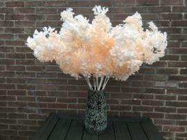 Kunstbloemen takken kersenbloesem light peach, 90 cm