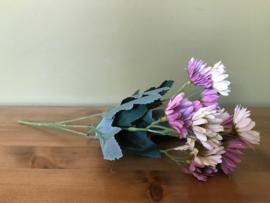 Kunstbloemen boeket madeliefjes, verschillende kleuren