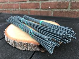 Universele steeltjes 27 cm (te gebruiken bij kunstbloemen zonder steel).