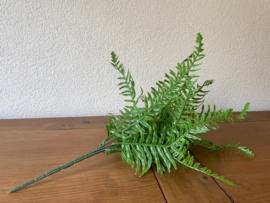 Kunstplant varen 45 cm hoog, 19 bladeren