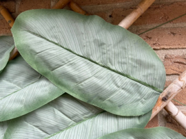 Kunstblad bananenblad 35x18 cm