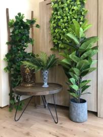Maak je eigen kunstplanten muur, tegels met kunstblad 25x25 cm