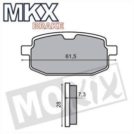 Remblokset MKX Skymax/Chi 1zuiger