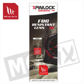 Pinlock anti damp lens voor Blade/Thunder3/Mugello (V-12 Max Vision)