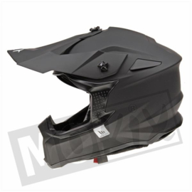 Helm MT Falcon Solid Mat zwart