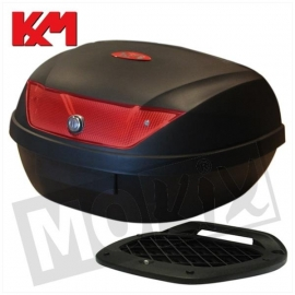 Top Koffer KXM RR 51L zwart