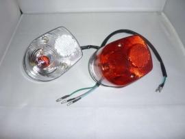 Achterlicht Dax helder (met rood lampje)