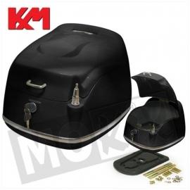 Top Koffer KXM Grande Retro Glans Zwart