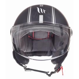 Helm MT Street Entire  Mat zwart