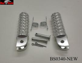 Voetsteun set 30mm MadMunk  Aluminium