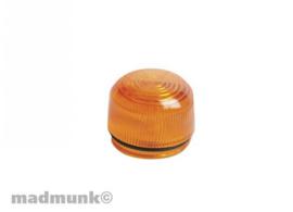 Richting aanwijzer glas oranje