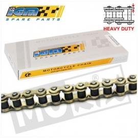 Ketting IGM 420 136l Heavy Duty goud