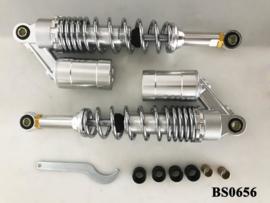 Schokdemper Set 330mm Chroom - Instelbaar
