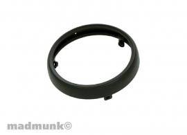 Ring rond voorlicht Dax zwart (3 schroef model)