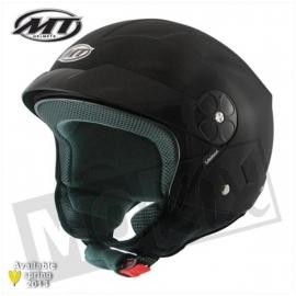 Helm MT Veloce mat zwart