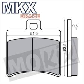 Remblokset MKX Aprilia SR50 '00 Achter