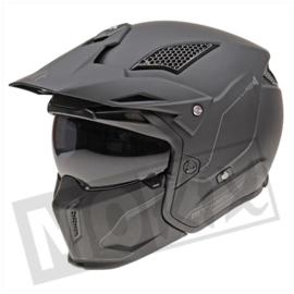 Helm MT Streetfighter SV mat zwart
