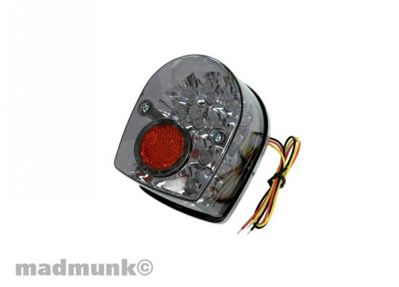Achterlicht Dax 16 LEDs Smoke