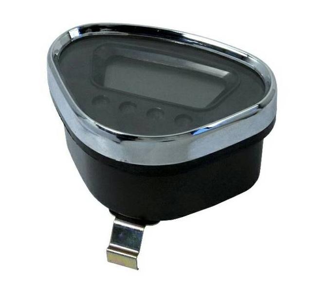 Dashboard Dax replica LCD - zwart achtergrond