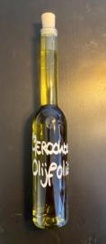 Gerookte olijfolie