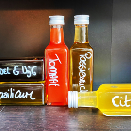 Cadeaux set balsamico, azijn&olijfolie