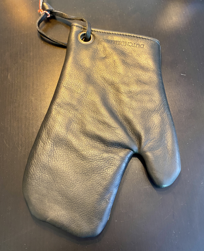 Lederen BBQ handschoen