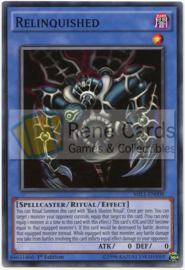 Relinquished - 1st. Edition - MIL1-EN008