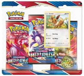 Pokemon - Battle Styles -  3-Blisterpack - Eevee