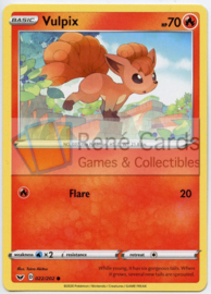 Vulpix - Sword & Shield - 022/202