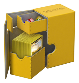 Flip´n´Tray Deck Case 80+ - Standard Size - XenoSkin - Amber