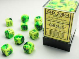 Gemini - Green-Yellow/silver