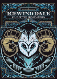 D&D 5.0 - Icewind Dale - Rime of the Frostmaiden - Alternative Cover