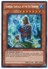 General Gantala of the Ice Barrier - 1st. Edition - HA04-EN054