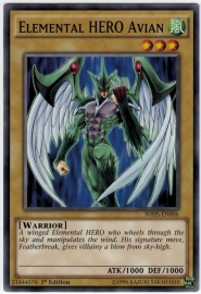 Elemental HERO Avian - Unlimited - SDHS-EN006