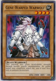 Gene-Warped Warwolf - Unlimited - BP01-EN116