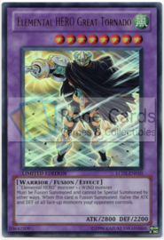 Elemental HERO Great Tornado - Limited Edition - LC02-EN010