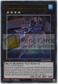 Full Armored Black Ray Lancer - 1st. Edition - DUSA-EN008