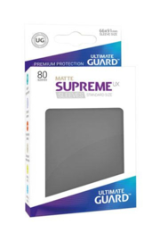 Supreme UX Sleeves - Standard Size Matte - Dark Grey