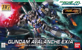 GN-001/hs-A01D Gundam Avalanche Exia` HG00 1/144