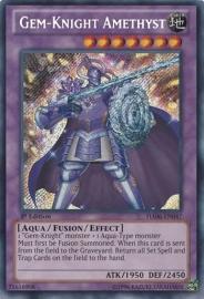 Gem-Knight Amethyst - 1st. Edition - HA06-EN047